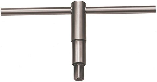 Buitenvierkantsleutel voor klauwplaat Speciaal staal 12mm AMF