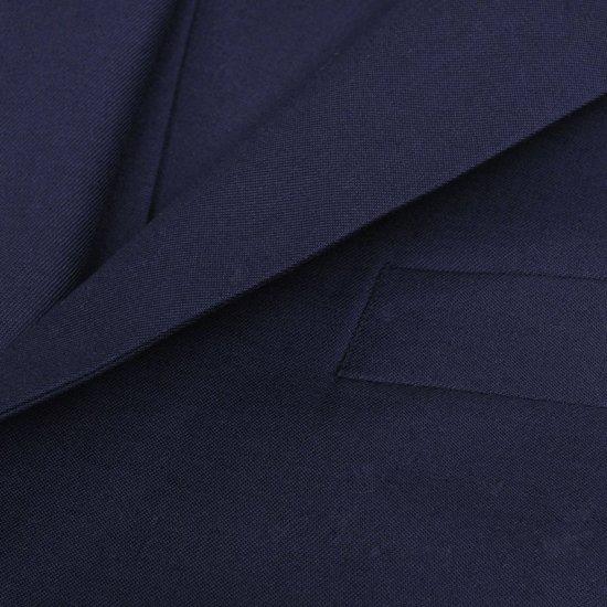 b1863048775 vidaXL Driedelig pak voor mannen maat 48 (marineblauw)