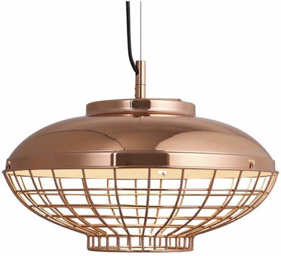 Lumenzy Hanglamp Eaton Rose Gold Ø 40 cm