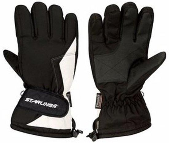 Winter handschoenen Starling zwart/wit voor volwassenen L (9)