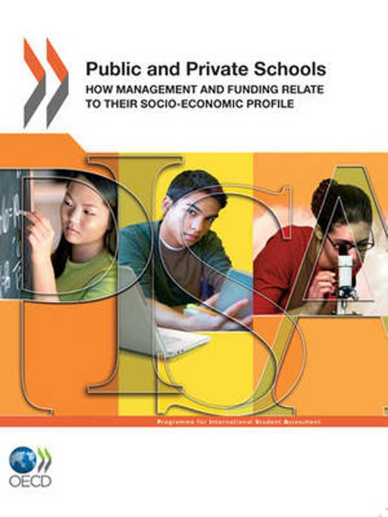 public and private school management and
