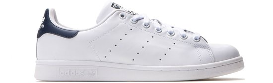 adidas Stan Smith Sneakers Unisex - White/Running White/New Navy