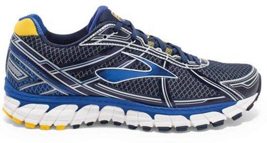 Brooks Defyance 9 Hardloopschoenen - Maat 42 - Mannen - blauw/zilver/geel