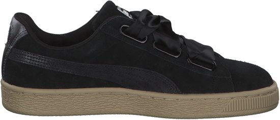 Puma - Dames Sneakers Suede Hearth Safari Ws - Zwart - Maat 38 1/2