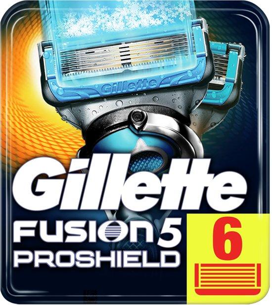 Gillette Fusion5 Proshield Chill - 6 stuks - Scheermesjes