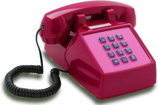 Opis Push-Me-Fon - Retro telefoon - Roze