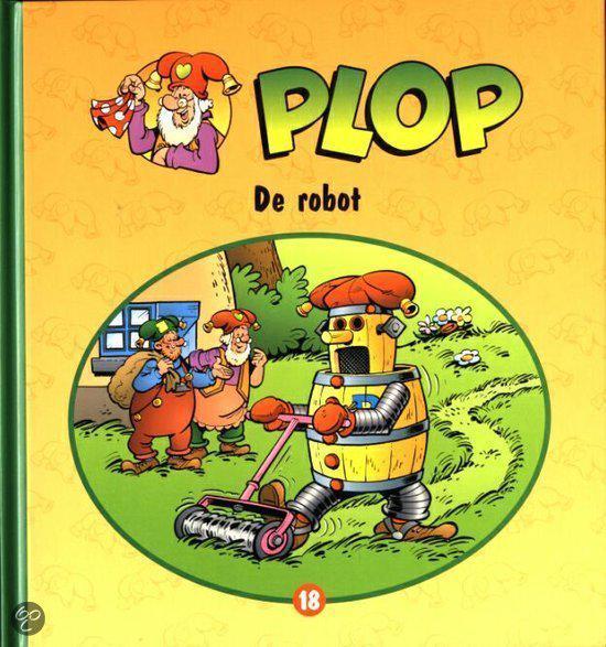 Boek cover Kabouter Plop deel 18 - De Robot van Danny Verbiest (Onbekend)