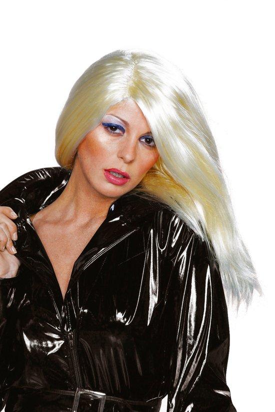 Pruik gigi blond