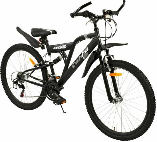 bol.com | Mountainbike 26 inch Cobra Mat-Zwart 18-speed (2614)