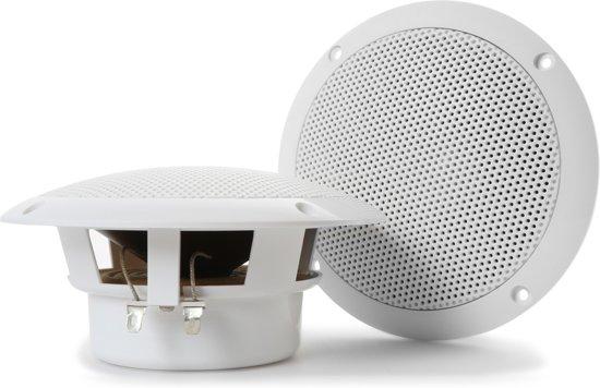 Tronios spatwaterdichte inbouw speakers - 80W - Wit