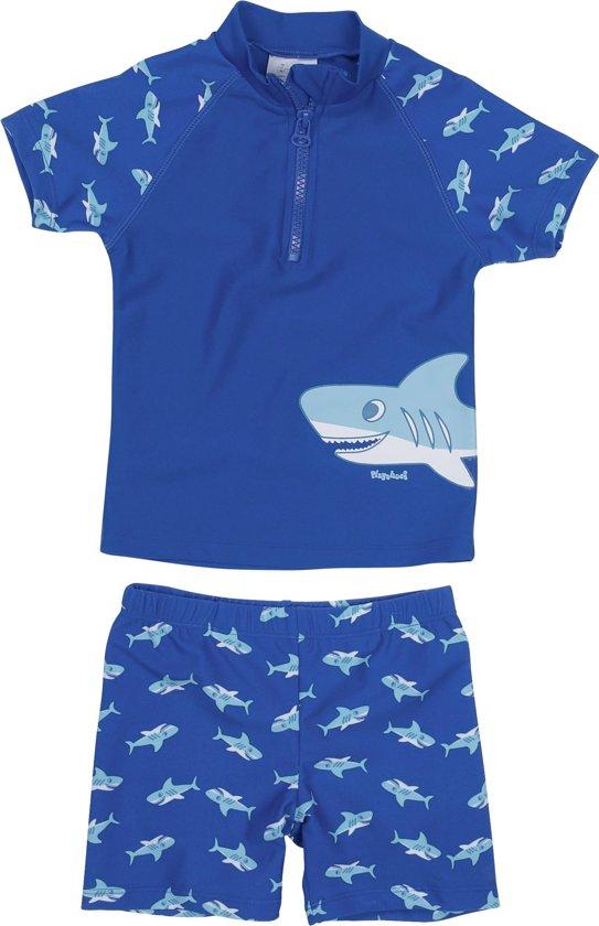 Playshoes UV zwempak met korte mouwen Kids- Shark 122/128