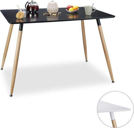 bol.com | relaxdays - eettafel - 120 x 80 - eetkamertafel - eetkamer ...