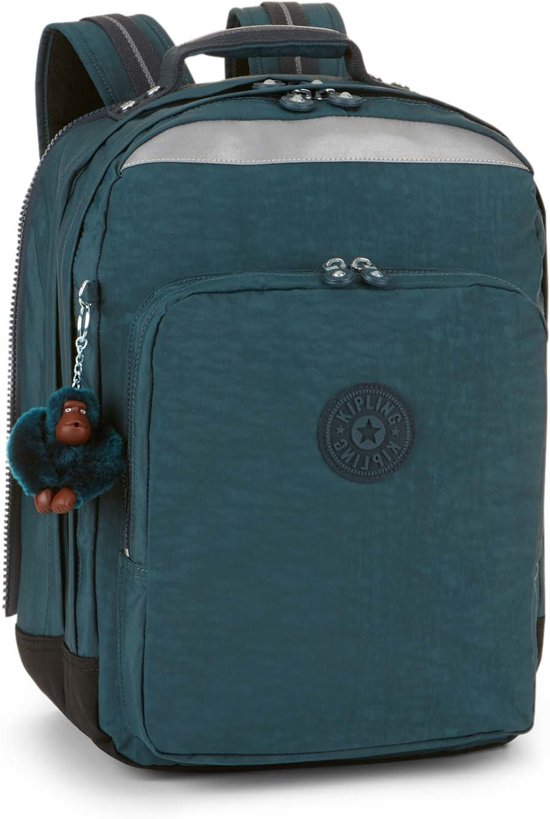 7d0491a834a bol.com | Kipling College Up - Laptop Rugzak - Emerald Combo