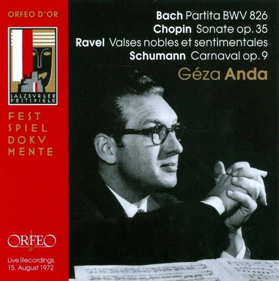 Partita Bwv826/Chopin Sonate Op.35/Rave