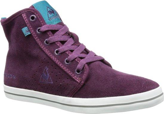 Le Coq Sportif - Dames Sneakers Voya Mid - Paars - Maat 41