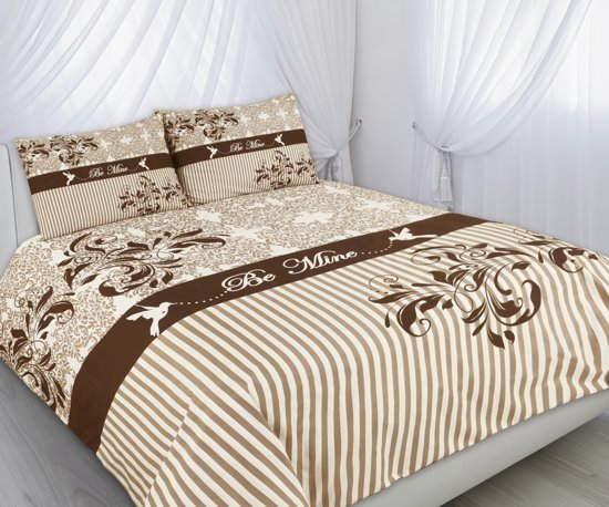 Bol.com eden bedding be mine dekbedovertrek 1 persoons 140 x