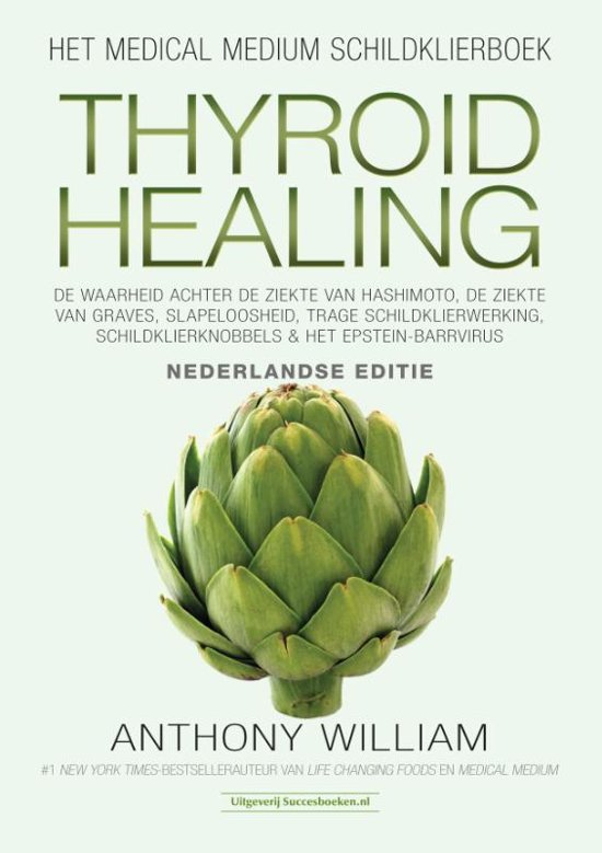 Boek cover Thyroid Healing van Anthony William
