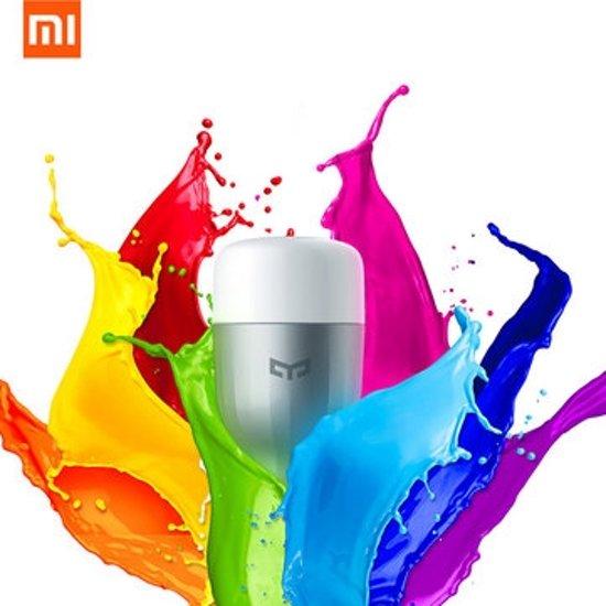 Xiaomi Yeelight Color E27 voor €7,50 d.m.v. code