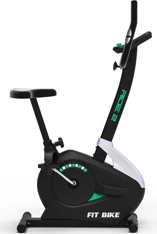 Hometrainer Fitbike Ride 2 - met tablet houder - Zwart