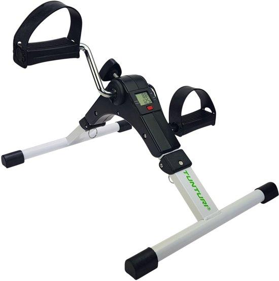 Tunturi Mini Bike - Stoelfiets - inklapbaar - Stoel fiets - Opvouwbare stoelfiets - Bewegingstrainer met computer