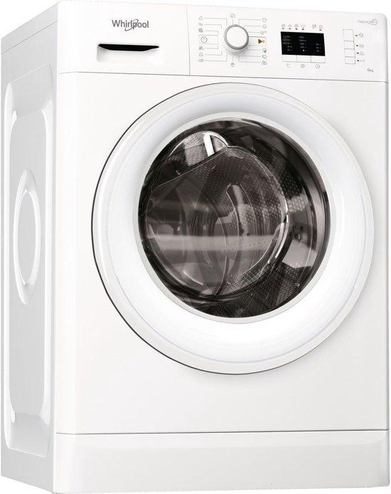 Whirlpool FWL61452W EU Vrijstaand Voorbelading 6kg 1400RPM A++ Wit wasmachine