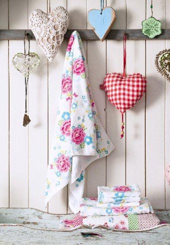 Funny Flower R7 Bath Towel Pink 70*140