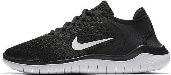 Nike Free Rn 2018 BTV Hardloopschoenen Kinderen - Black/White - Maat 27
