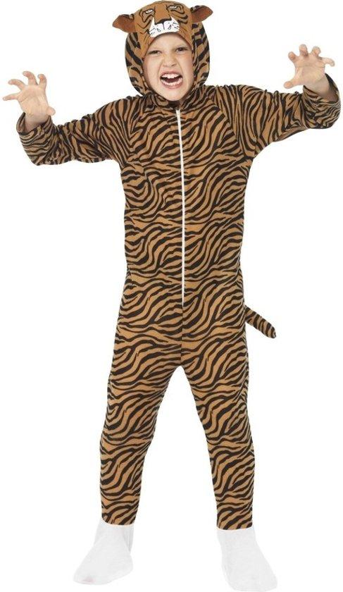 a4d47f51248 bol.com | Tijger onesie kostuum voor kinderen / dierenpak - maat 146 ...