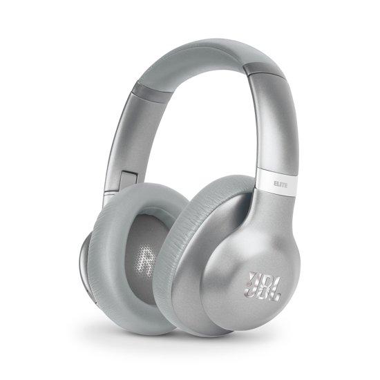 JBL Everest 750NC - Draadloze over-ear koptelefoon met Noise Cancelling - Zilver