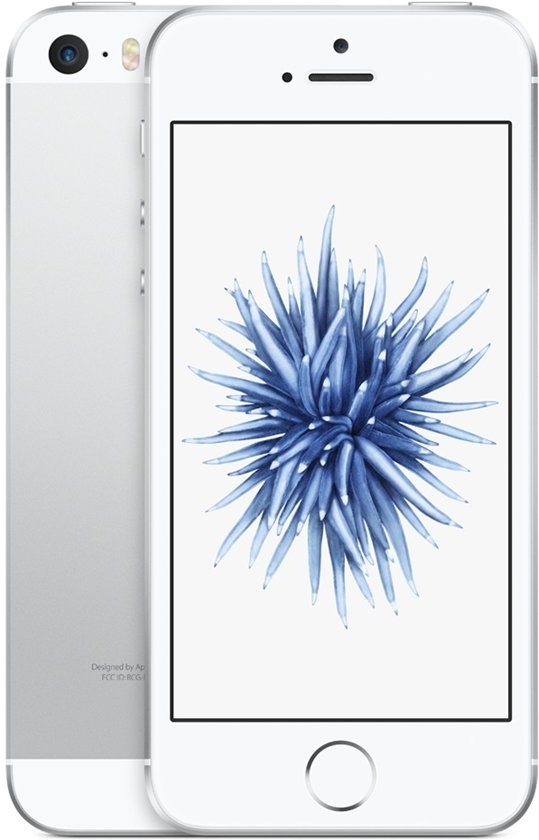 Forza Refurbished Apple smartphone iPhone SE - 32GB Zilver - A-grade - Als nieuw - 2 jaar garantie