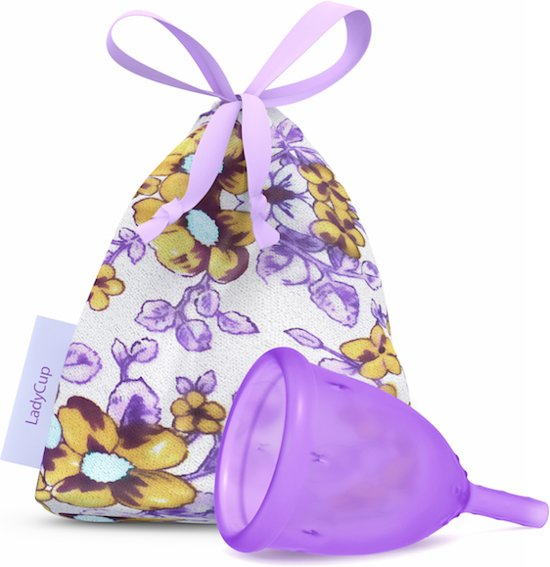 LadyCup Menstruatiecup Lilac - Maat S
