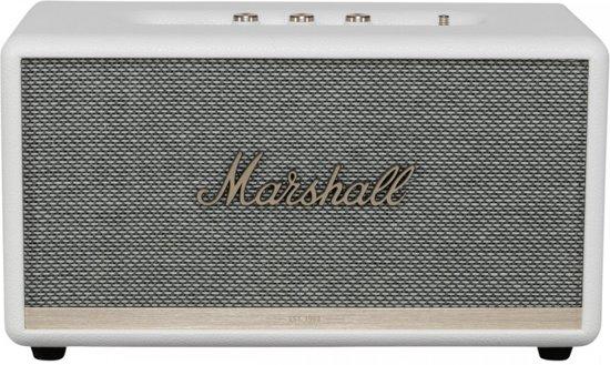 Marshall Stanmore II bluetoothspeaker, Wit