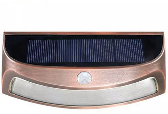 Licht En Bewegingssensor : Bol.com solar led wandlamp met bewegingssensor warm licht