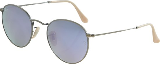 b2c540855e46f7 Ray-Ban RB3447 167 4k - Round Metal (Flash) - Brons-