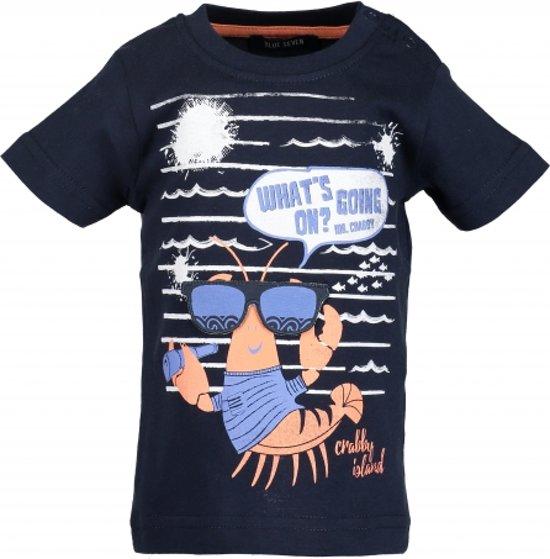 Blue Seven T-shirt Crabby island   -  Maat  62