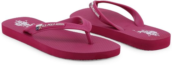 U.s. Polo Assn. - Slippers Vrouw Vaian4209s7_g4 Mediumvioletred