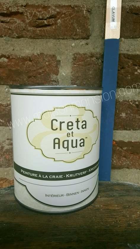bol.com | Krijtverf Creta et Aqua 250 ml Clavum oud blauw
