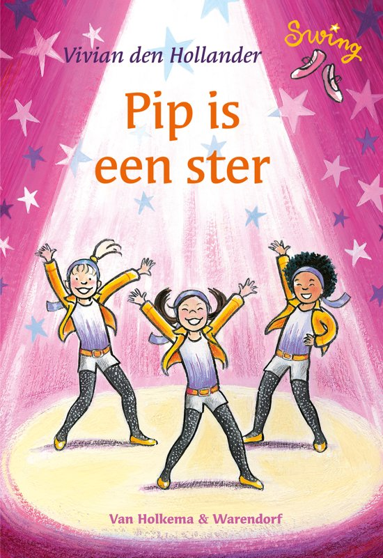 Boek cover Swing - Pip is een ster van Vivian den Hollander (Hardcover)