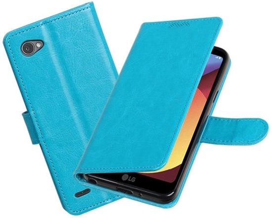 BestCases - Turquoise Portemonnee booktype hoesje LG Q6