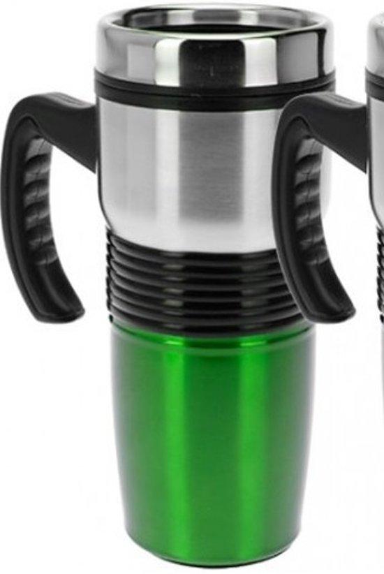 Drinkbeker dubbelwandig groen