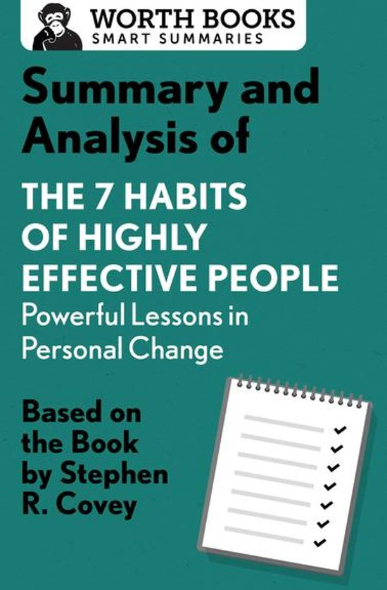 Boek cover Summary and Analysis of 7 Habits of Highly Effective People: Powerful Lessons in Personal Change van Worth Books (Onbekend)