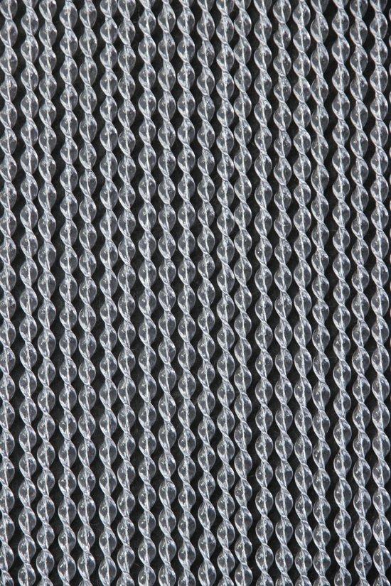 Vliegengordijn Plastic Slierten.Bol Com Sun Arts Evora Vliegengordijn Model 583 90 X 210 Cm Grijs