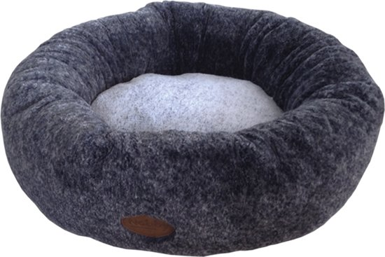 Nobby - mand Cuddly - rond - donker grijs 50 CM