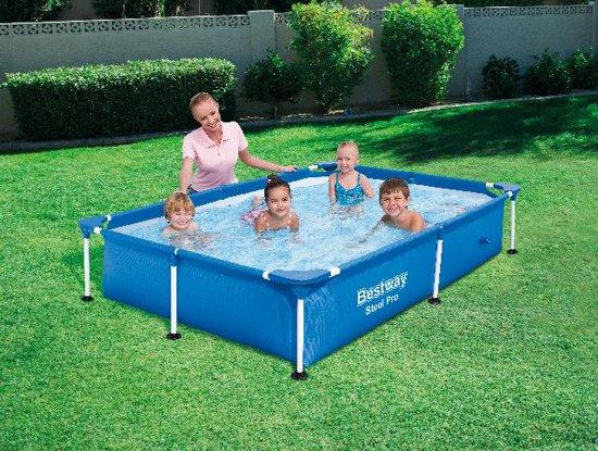 Bestway My First Frame Pool 221 x 150 x 43 cm - Zwembad
