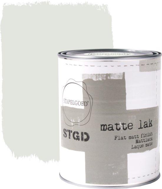 Stapelgoed - Matte Lak - Salt - Grijs - 1L