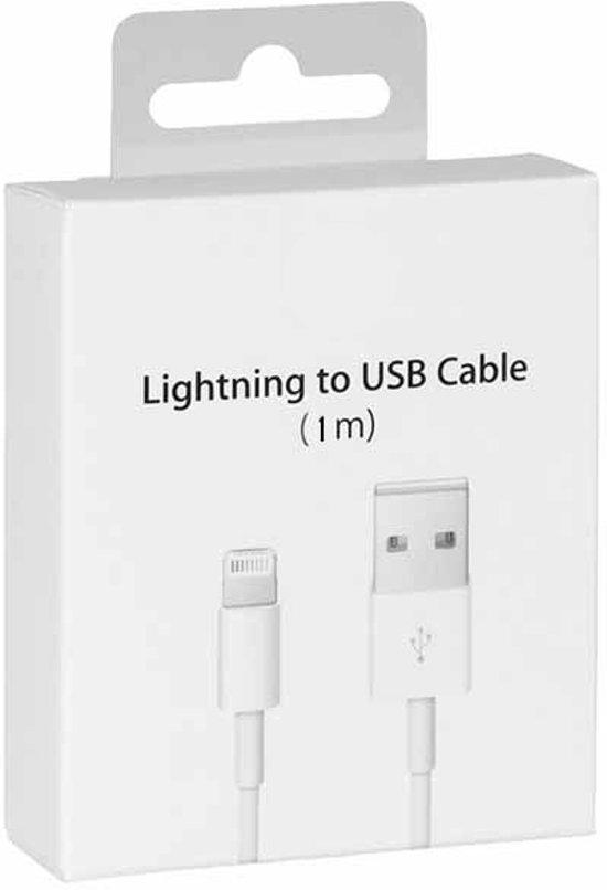 Iphone/Ipad Lightning USB Data Kabel 1.0M (Met Retail verpakking)