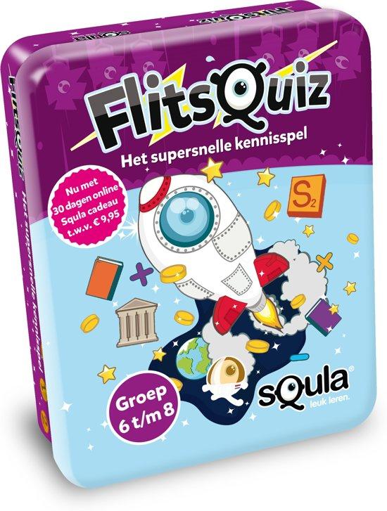 Afbeelding van het spel Squla flitsquiz 6 7 8 - Kaartspel