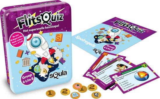 Thumbnail van een extra afbeelding van het spel Squla flitsquiz 6 7 8 - Kaartspel