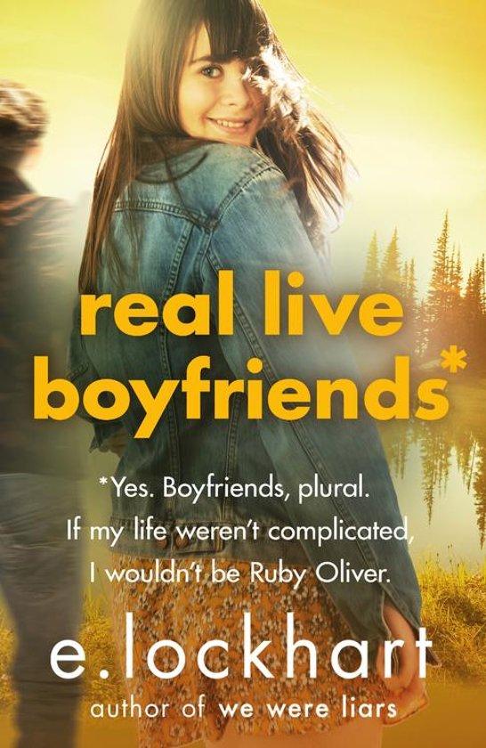 Boek cover Ruby Oliver 4: Real Live Boyfriends van E. Lockhart (Onbekend)
