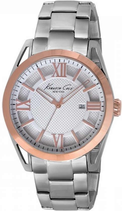 Kenneth Cole - Horloge Heren Kenneth Cole IKC9373 (42 mm) - Unisex -